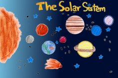 Vera Mariscal - 6th Grade A - Science, The Solar System - 2012/2013
